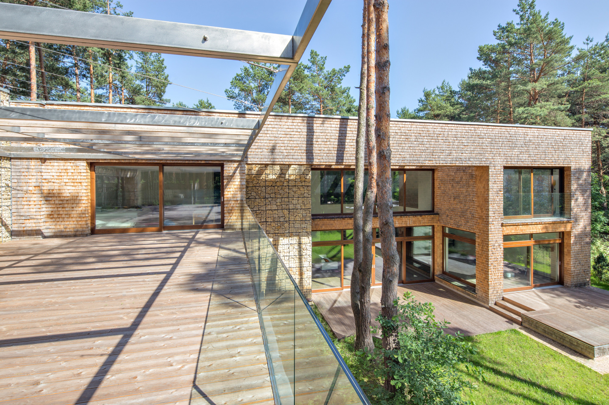 forest house biuro architektoniczne barycz saramowicz. Black Bedroom Furniture Sets. Home Design Ideas