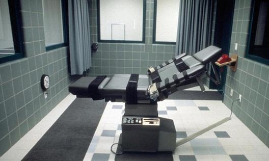 Prisões e violação dos direitos humanos: O que podem fazer os arquitetos?, A câmara de execução em Indiana onde Timothy McVeigh foi morto em 2001: deveriam os arquitetos estar envolvidos?