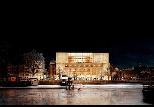 David Chipperfield Architects To Design Nobel Prize's New Home, Nobelhuset / David Chipperfield Architects. Image © Nobelhuset AB, via Architect's Journal