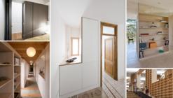 Muebles y espacios para almacenar: armarios, estantes y roperos en la arquitectura