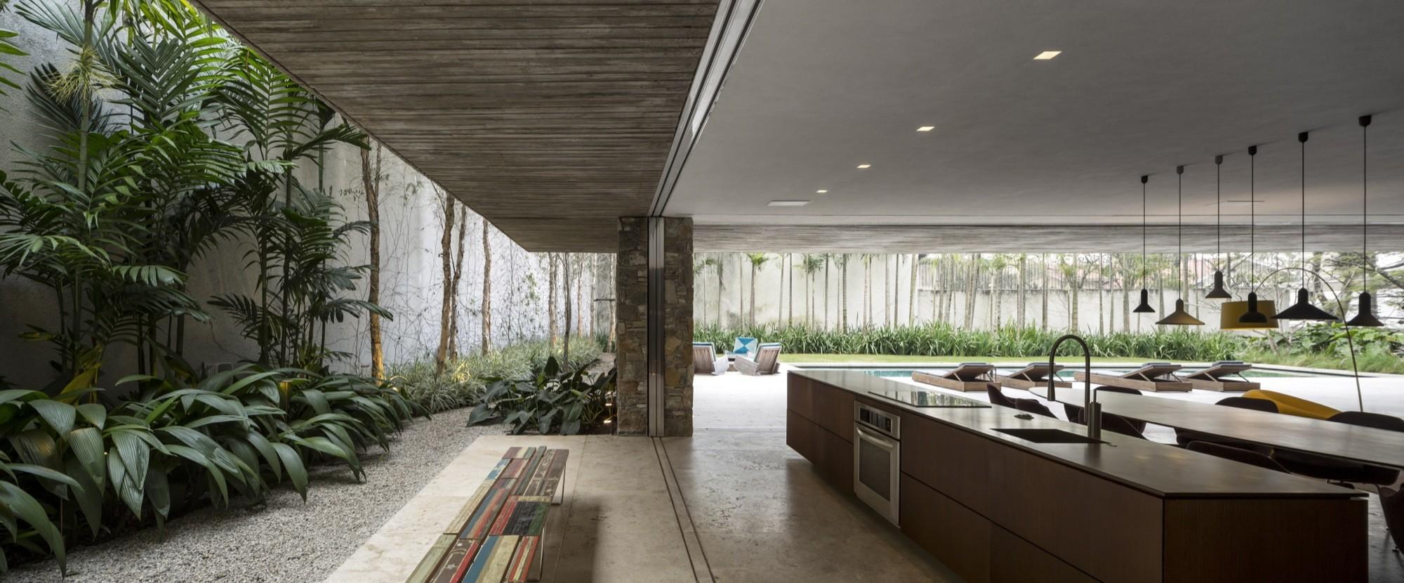 Open layout house concept by studio mk27 - Fernando Guerra Fg Sg