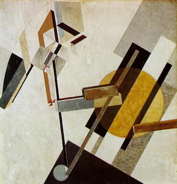 Projeção axonométrica: novas geometrias e antigas origens / Stan Allen, Proun 19D, 1922. Image © El Lissitzky