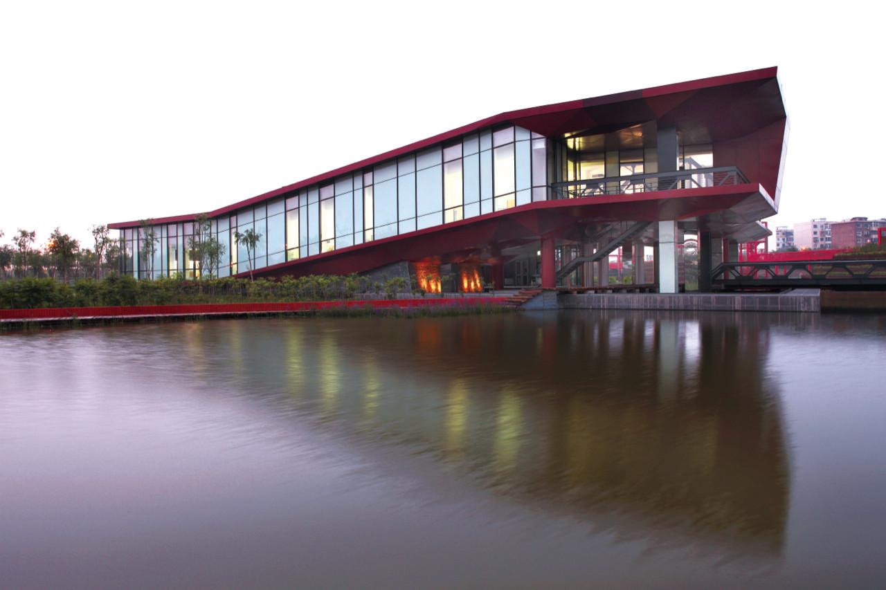 Museo de la Cultura en Puente Tianjin Qiaoyuan / Sunlay