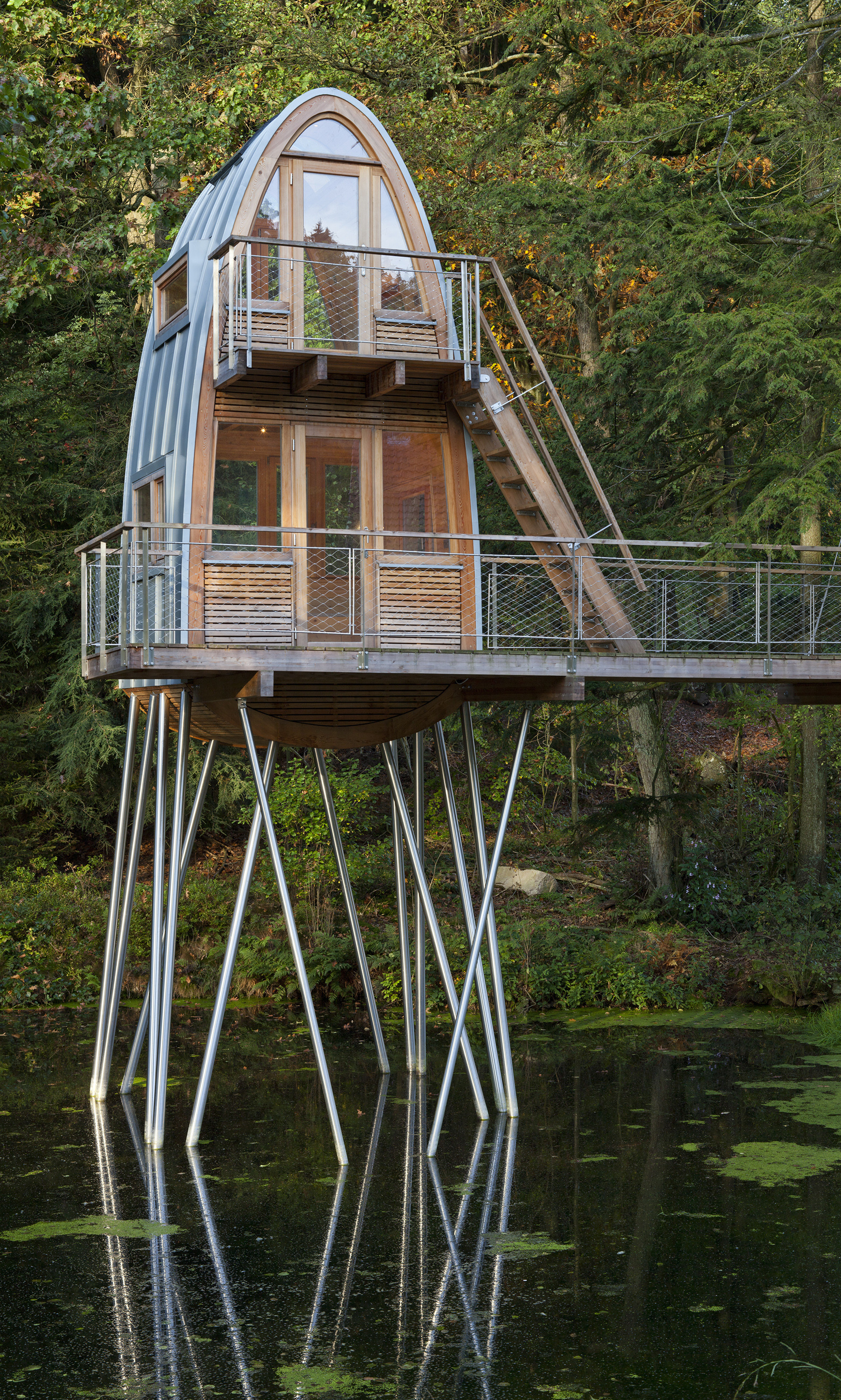 Gallery Of Treehouse Solling Baumraum 6