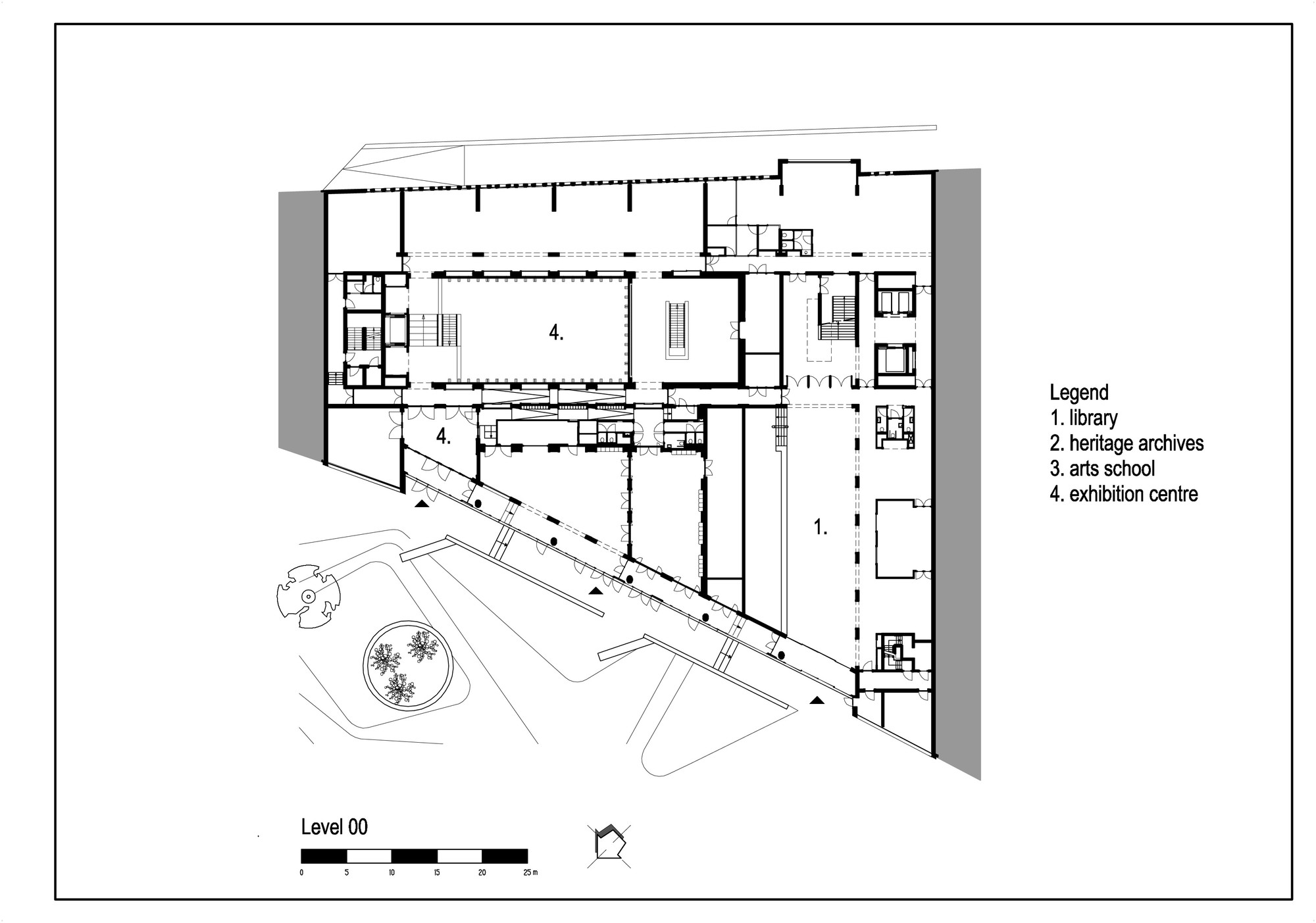 Gallery of culture house eemhuis neutelings riedijk for Traditions of america floor plans