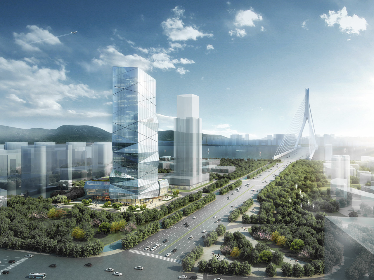 HENN Wins Competition to Design Wenzhou High-Rise, © HENN