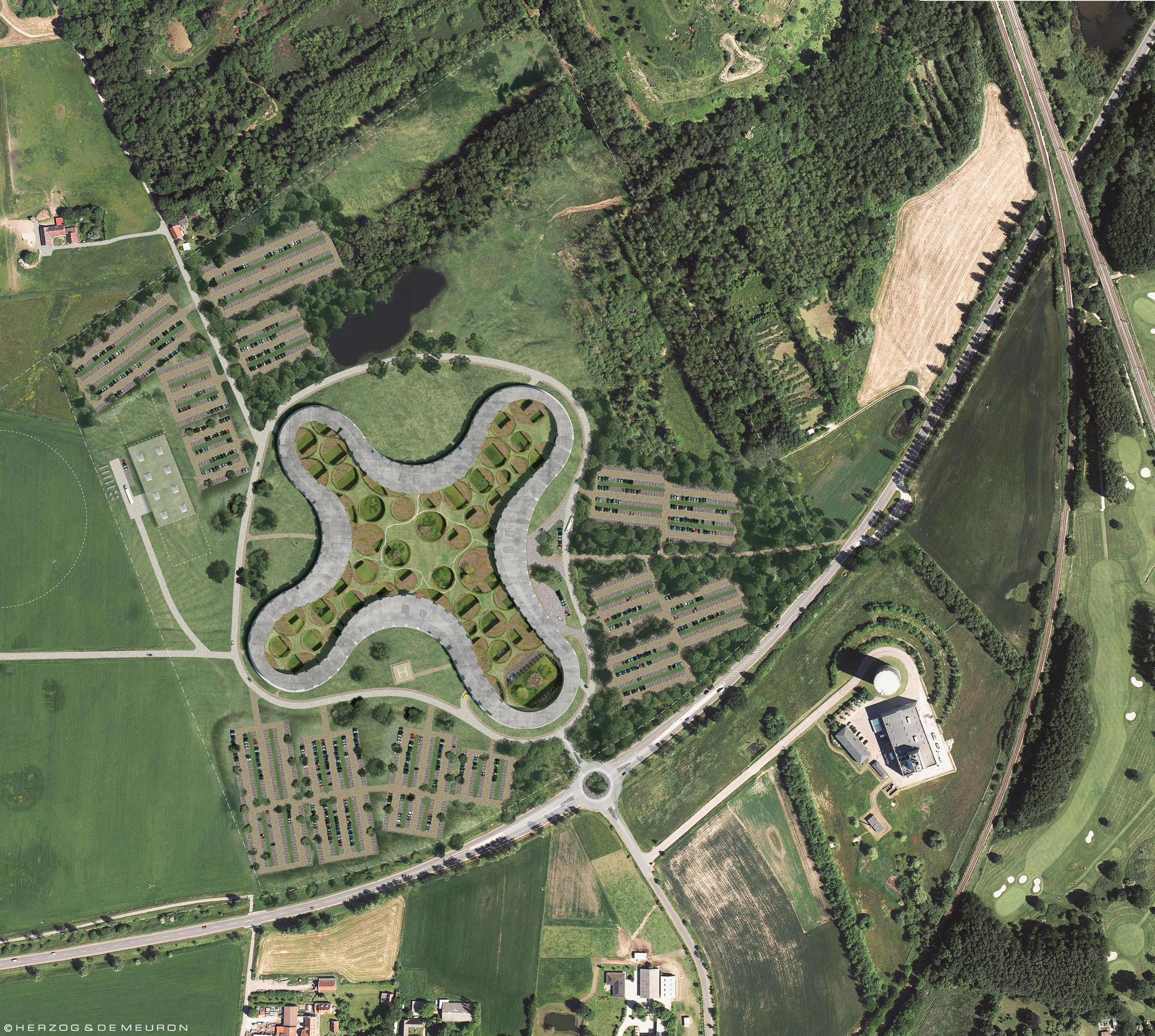 Diseño de Herzog & de Meuron para uno de los principales Hospitales de Dinamarca , Courtesy of Herzog & de Meuron