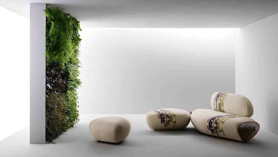 The Top Architect-Designed Products of Milan Design Week 2014, Benedetta Tagliabue for Passoni Nature: Sofa 'BOTAN'