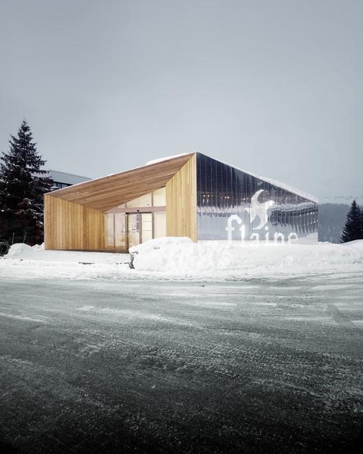 Pavillon D'acceuil De Flaine / R-Architecture, © Valentin Jeck