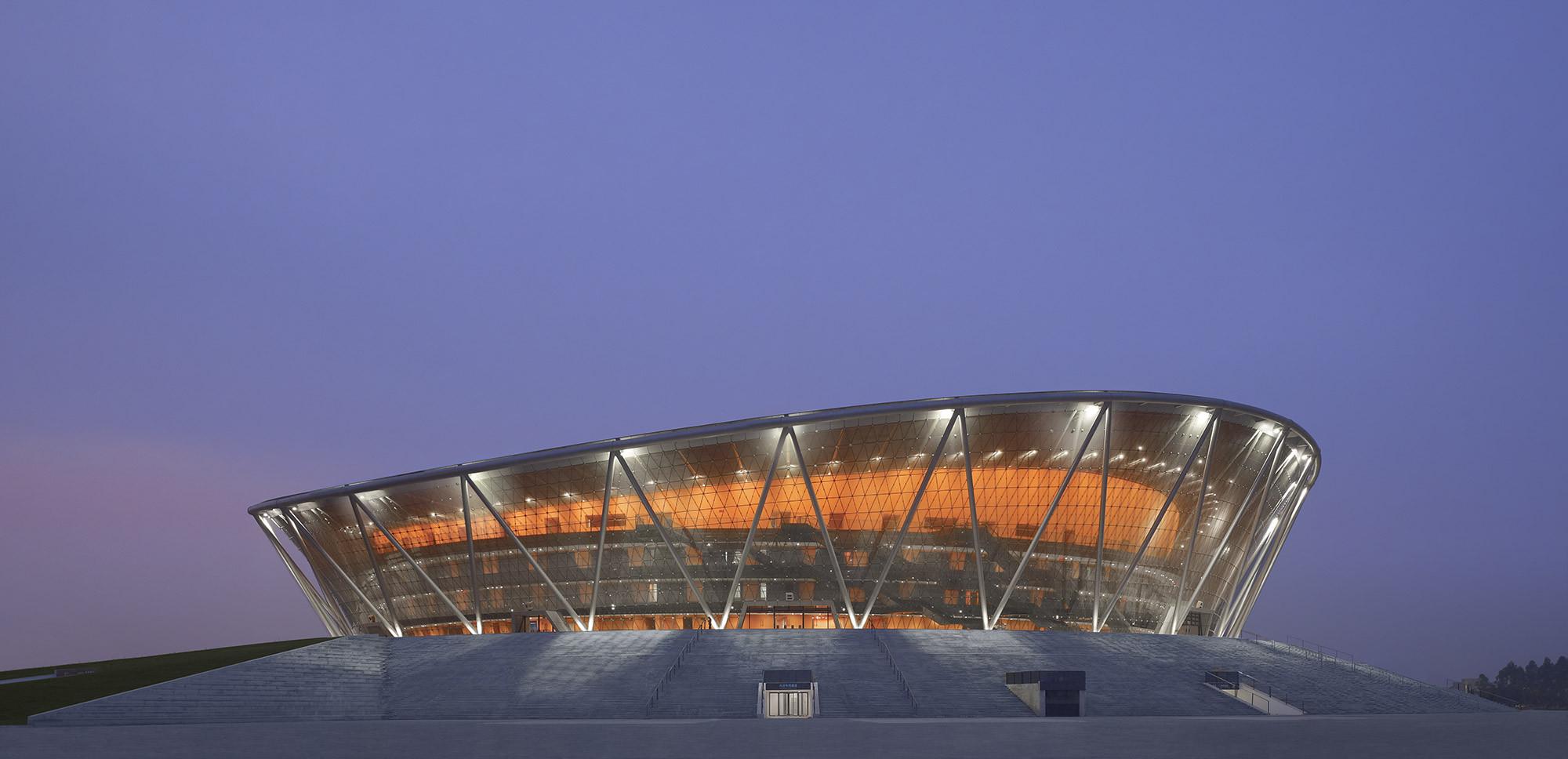 Gallery of Basketball Stadium in Dongguan / gmp ...