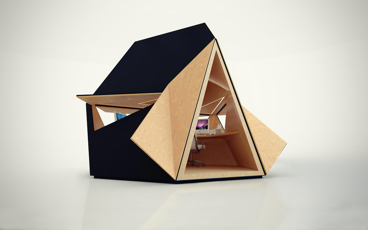 Tetra Shed: A Multi-Functional, Modular Building System Now Available
