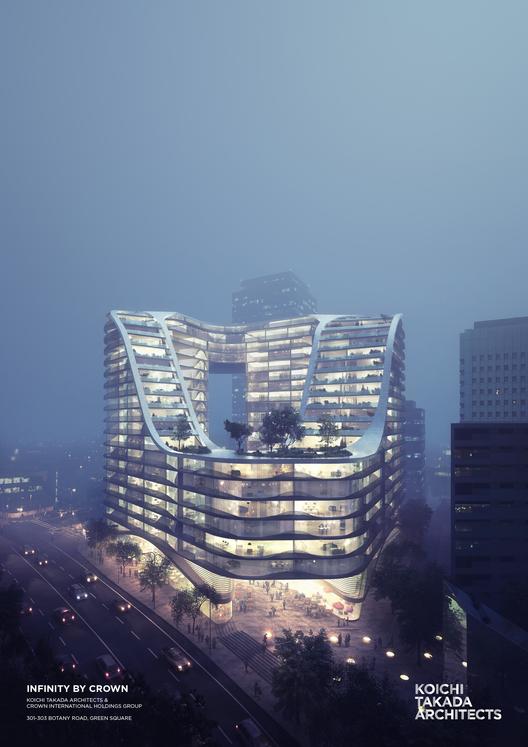 KTA entrega detalles del proyecto de renovación urbana más grande de Australia, © Koichi Takada Architects