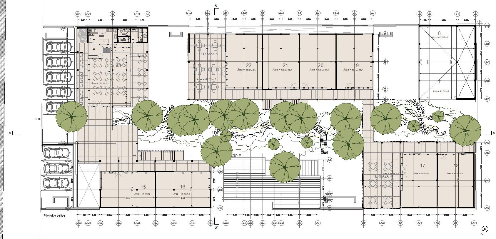 Galer A De Arquitectura Y Paisaje Plaza Andaro Construida