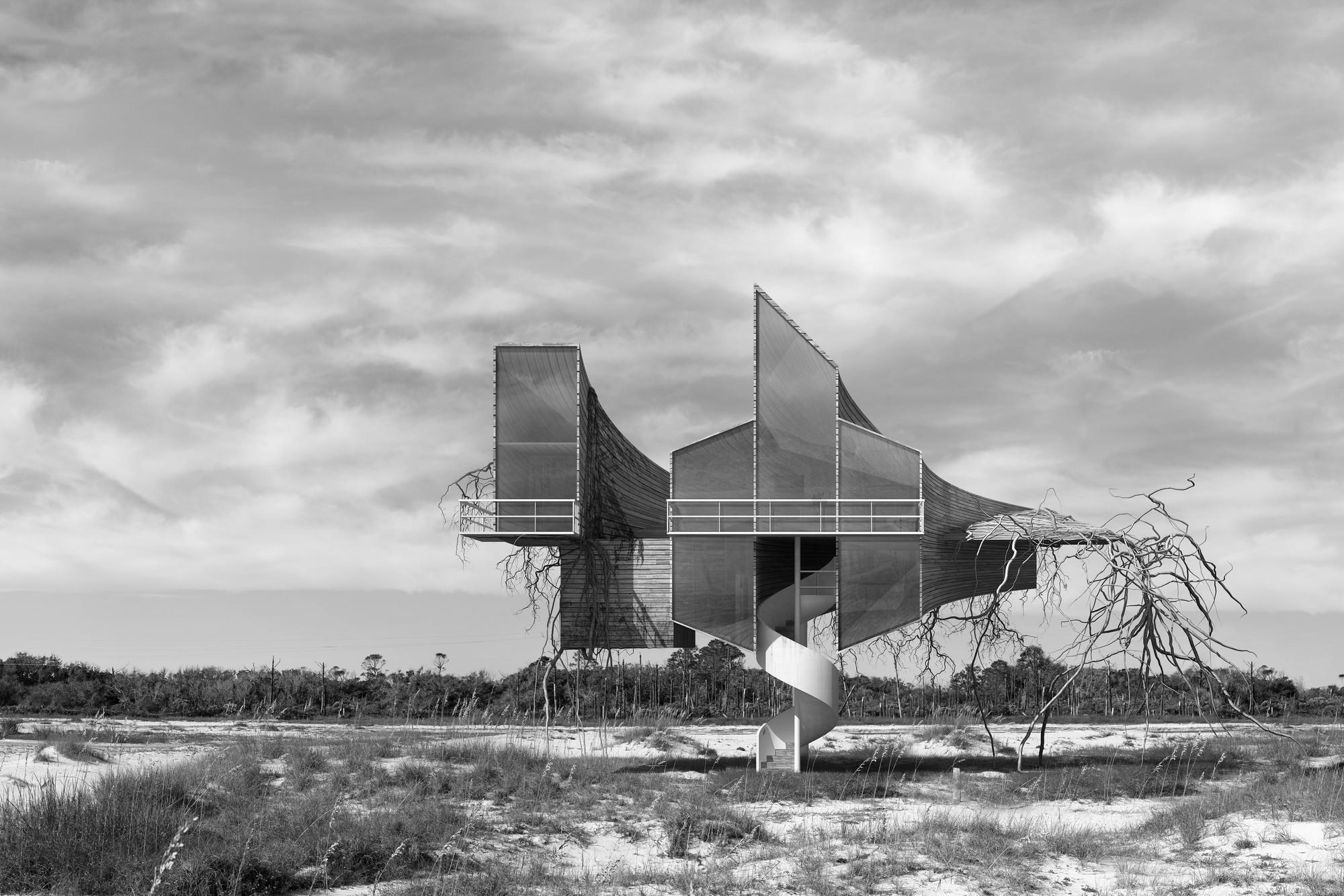 Arte y Arquitectura: arquitectura para la resistencia por Dionisio González, © Dionisio González. Cortesía de Yusto / Giner