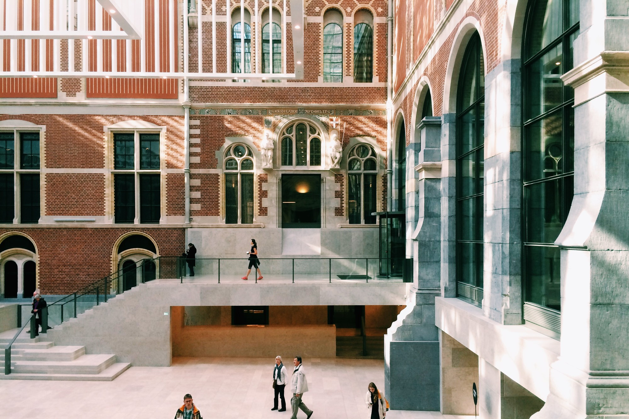 Rijksmuseum Revisited: The Dutch National Museum One Year On, Atrium, April 2014. Image © James Taylor-Foster