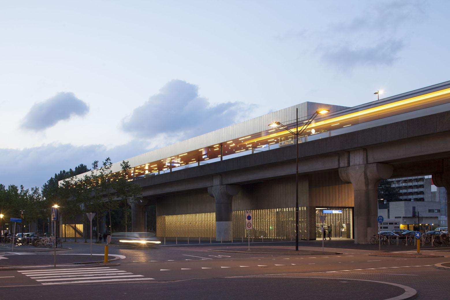 Amsterdam Metro Station / Maccreanor Lavington Architects, Courtesy of Maccreanor Lavington