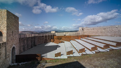 EERJ Adaptation of Patio de Armas in El Real de la Jara Castle / Villegas Bueno Arquitectura