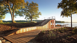 View Terrace and Pavilion / Didzis Jaunzems  + Laura Laudere  + Jaunromans and Abele