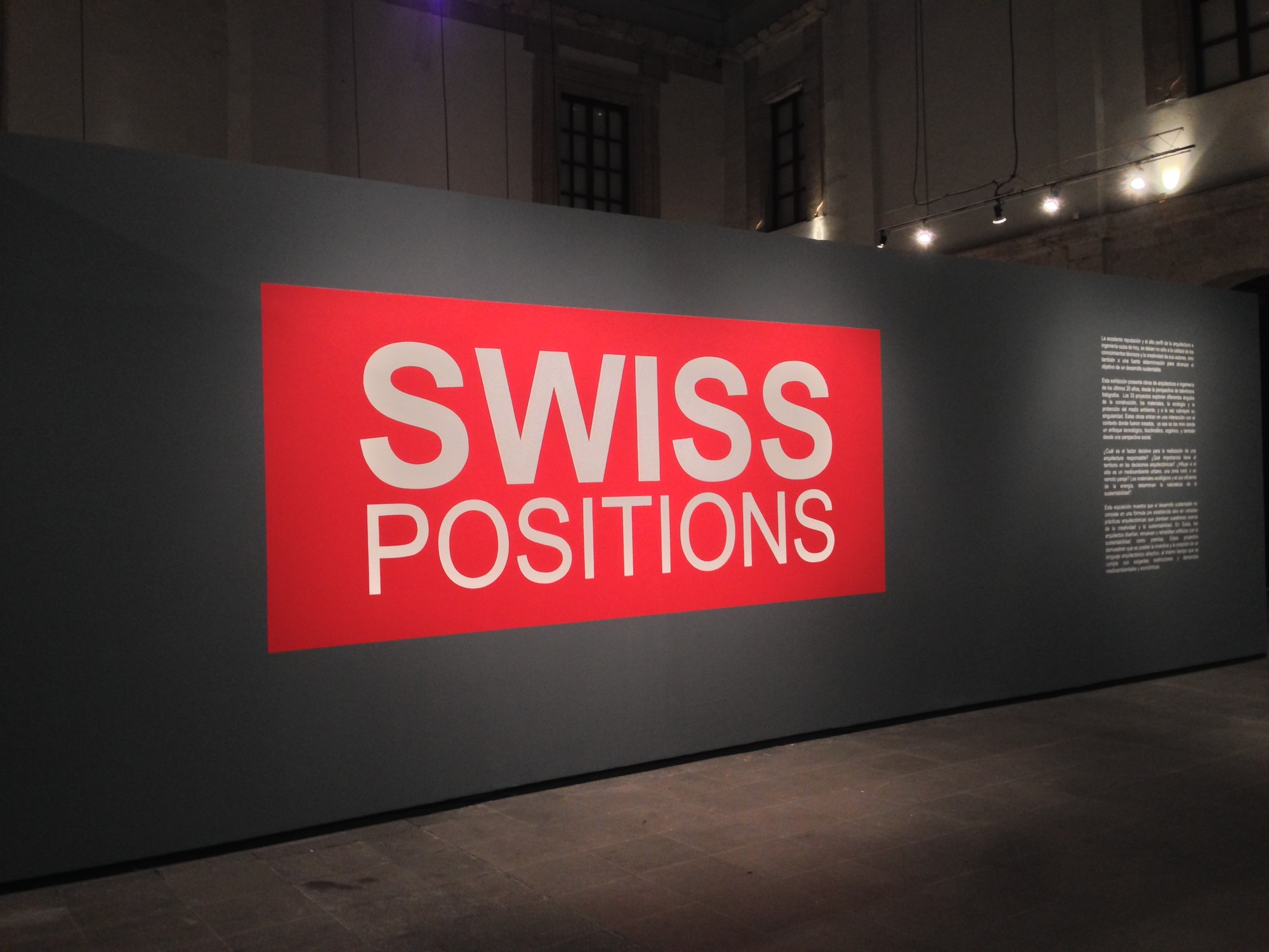 Swiss Positions: 33 proyectos para un enfoque sustentable / Museo Franz Mayer, Cortesía Museo Franz Mayer