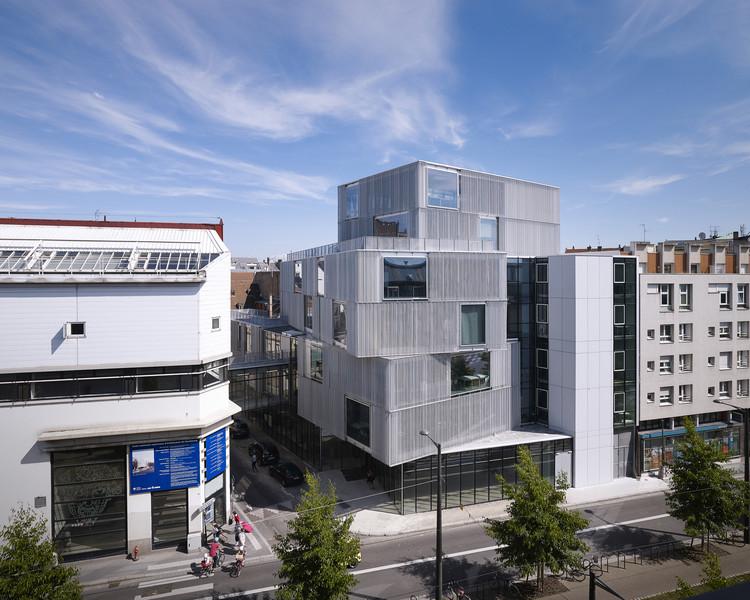 Escuela de Arquitectura de Estrasburgo / Marc Mimram, © Julien Lanoo