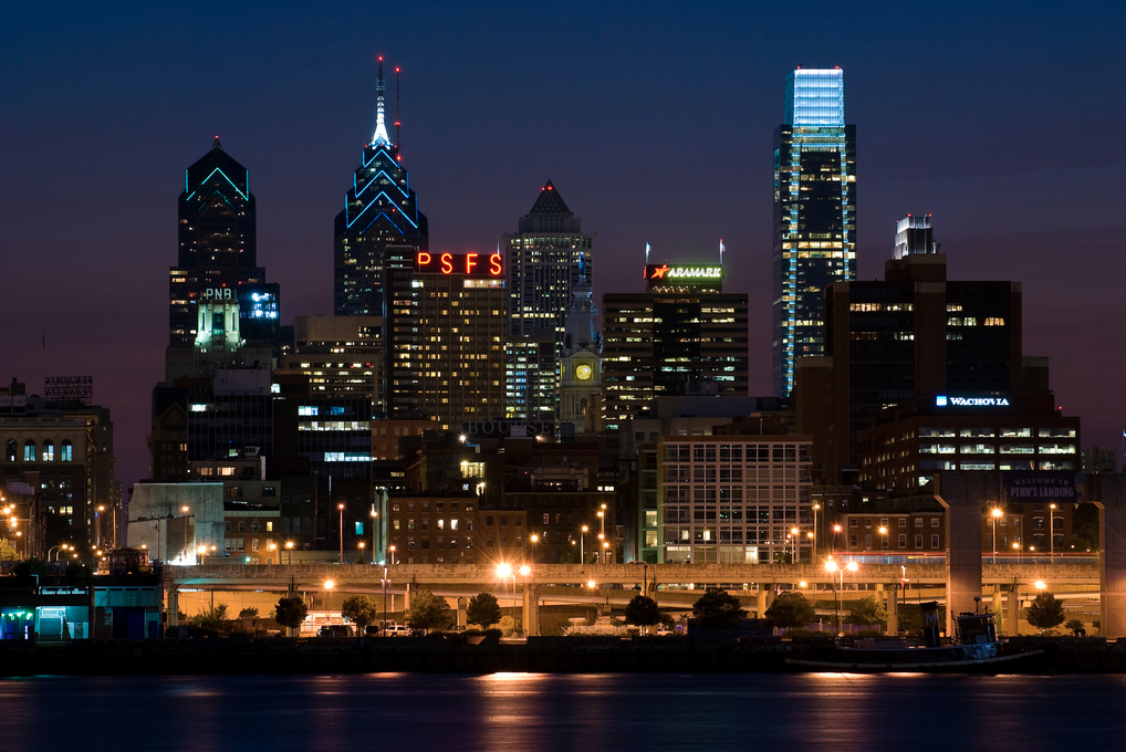 Architecture Critic Inga Saffron Wins Pulitzer, Philadelphia Skyline. Image © Flickr CC User Brad Jacobson