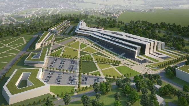 Sasanbell to Design £200m Exhibition Center in Aberdeen, © Sasanbell and Cooper Cromar, via BDOnline