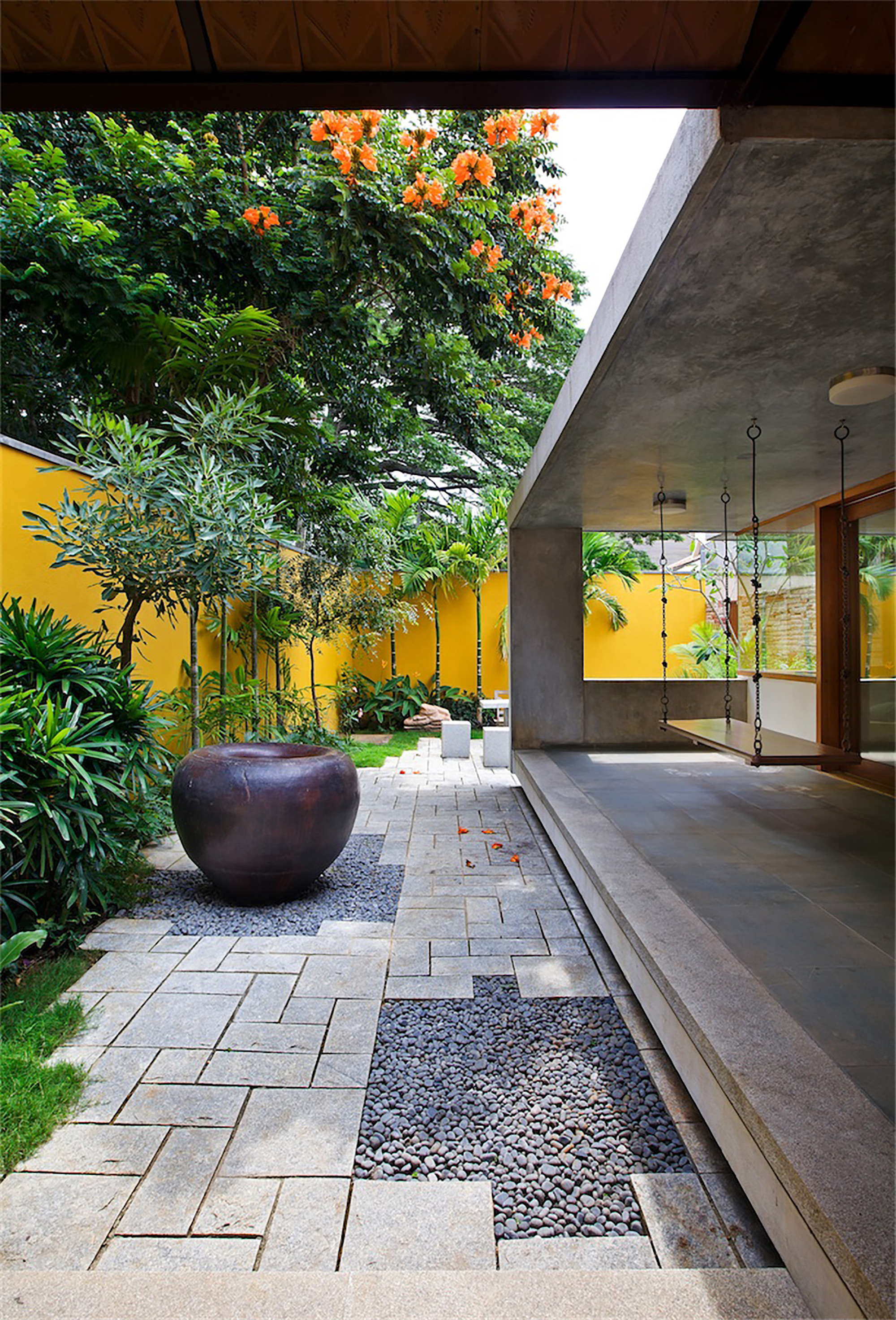 Gallery of the library house khosla associates 2 Pathway images
