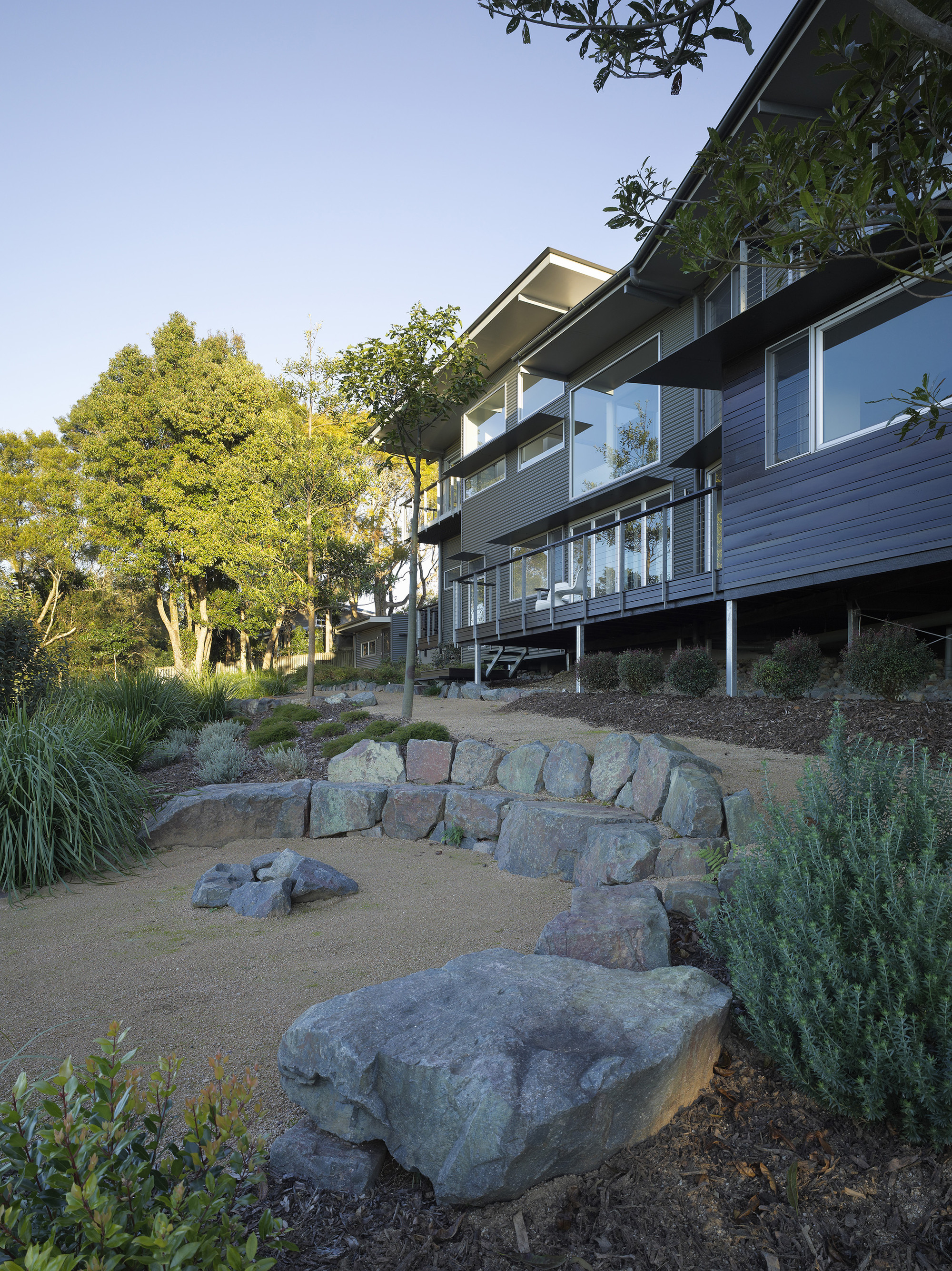 Gallery Of Glass House Mountains House Bark Design Architects 15