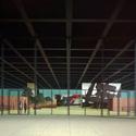 New National Gallery; modelo com exposição hipotética de grandes pinturas expressionistas abstratas, 1964. Imagem Cortesia de Artists Rights Society (ARS), New York/VG Bild-Kunst, Bonn