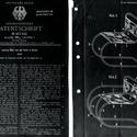 Mies van der Rohe, patente alemã no. 467,242 por sua primeira cadeira, em 24 de agosto de 1927. Imagem Cortesia de Vitra Design Museum