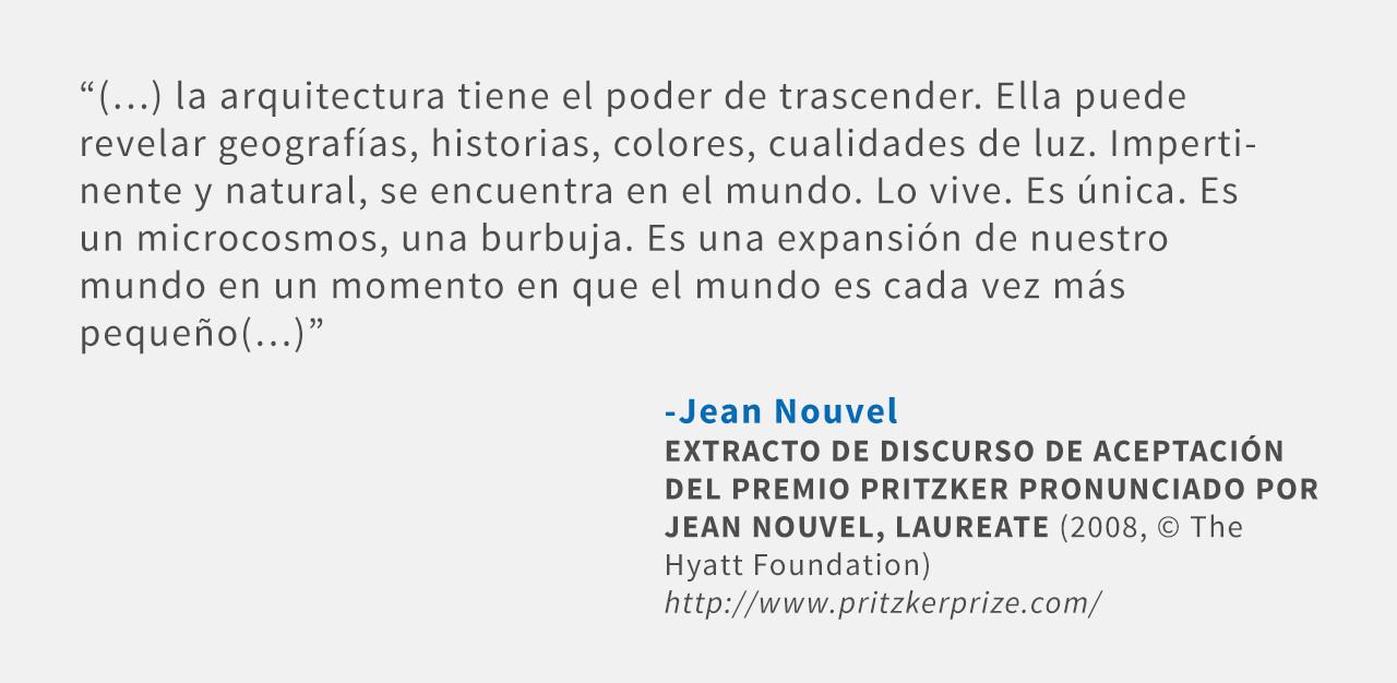 Frases: Jean Nouvel