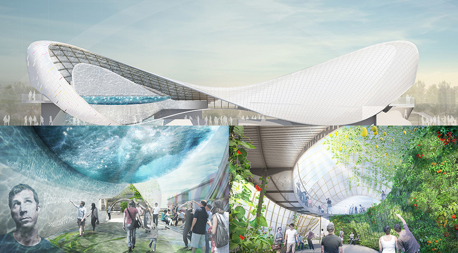 Milan Expo 2015: Shortlisted Designs Revealed for UK Pavilion, Team 2. Image Courtesy of UKTI