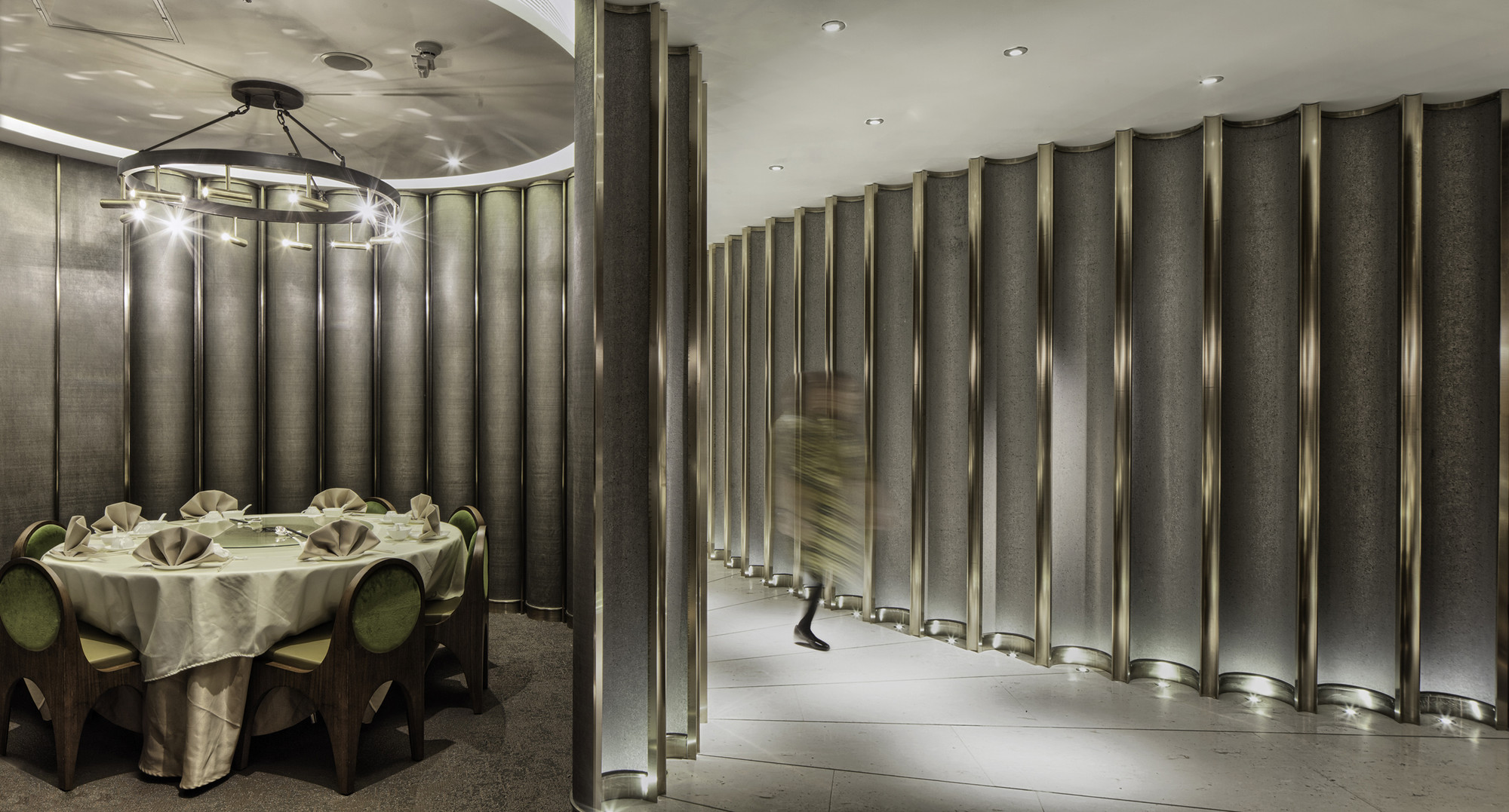 Pak Loh Times Square Restaurant / NC Design & Architecture, © Nathaniel McMahon