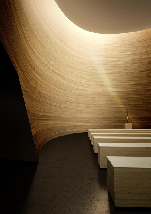 Inspiração Divina: 15 espaços espirituais, Capela do Silêncio Kamppi  / K2S Architects