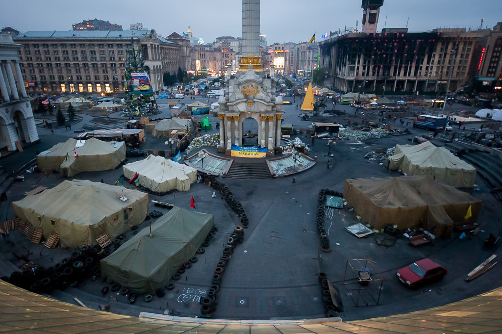 How Kiev's Independence Square Helped Spur an Uprising, © Flickr CC User Michael Kötter