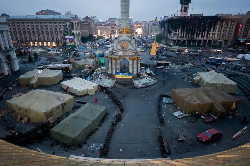 Como a Praça da Independência de Kiev ajudou a estimular as revoltas?, © Flickr CC, usuário Michael Kötter
