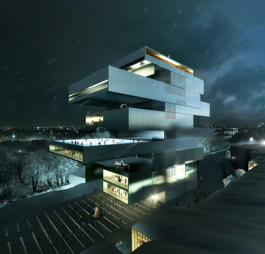 National Centre for Contemporary Arts (NCCA) / © Heneghan Peng, Dublin