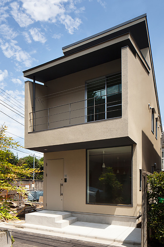 Nakano fireproof wooden house masashi ogihara archdaily for Asian style home plans