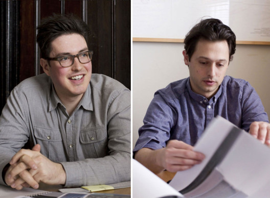 Julian Rose (left) and Garrett RIcciardi (right) met at Princeton University and later started formlessfinder together . Image Courtesy of formlessfinder