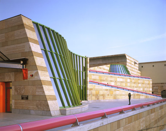Em foco: James Stirling, Staatsgalerie, Stuttgart, Alemanha (1977–1984), 1984. Alastair Hunter, fotógrafo. Cortesia de Canadian Centre for Architecture