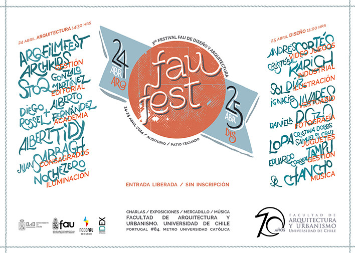FAUFest 2014 Arquitectura + Diseño, Courtesy of FAU