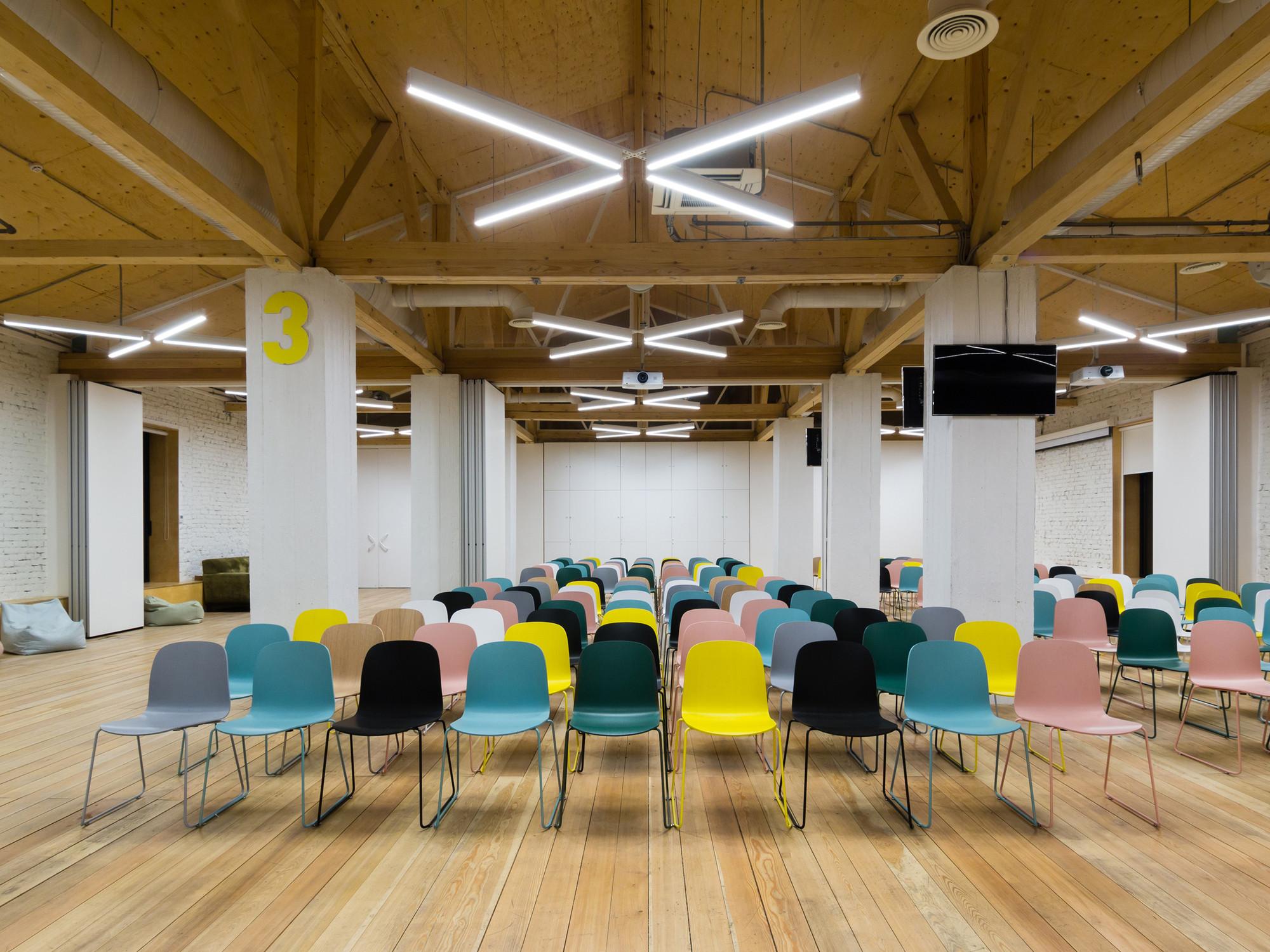 Gallery of Garage CCC Education Center FORM Bureau 9