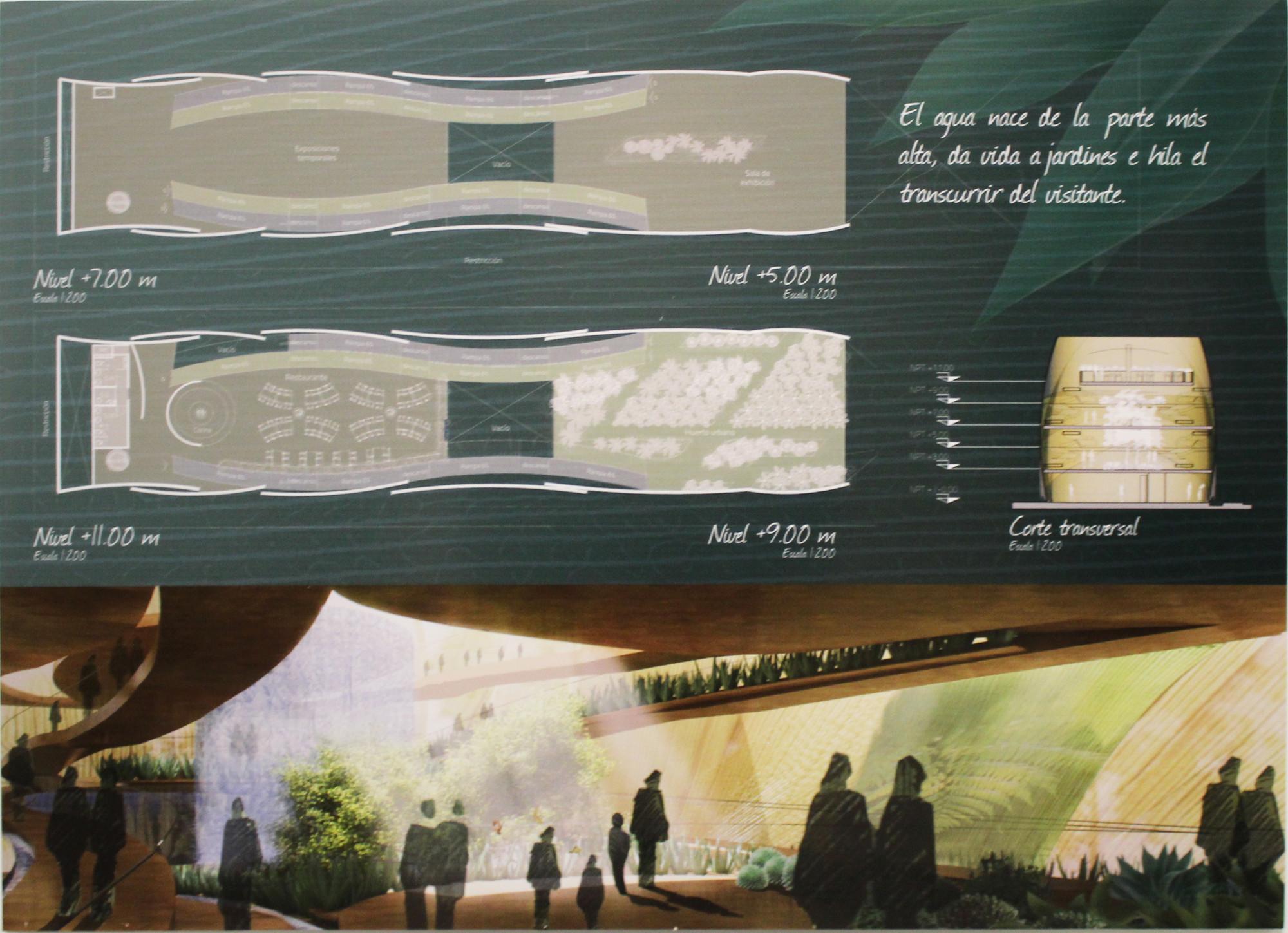 Propuesta ganadora para el Pabellón de México en la Expo Milán 2015