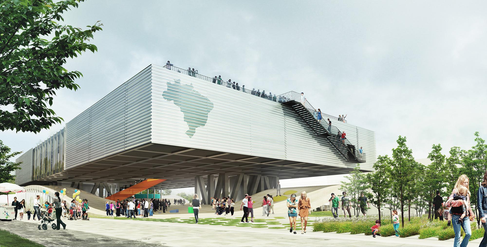 Propuesta para el Pabellón de Brasil en la Expo de Milán 2015, Cortesía del Equipo de Proyecto