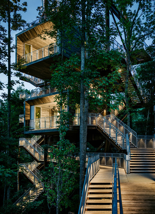 Sustainability Treehouse; Glen Jean, West Virginia / Mithun with BNIM © Joe Fletcher