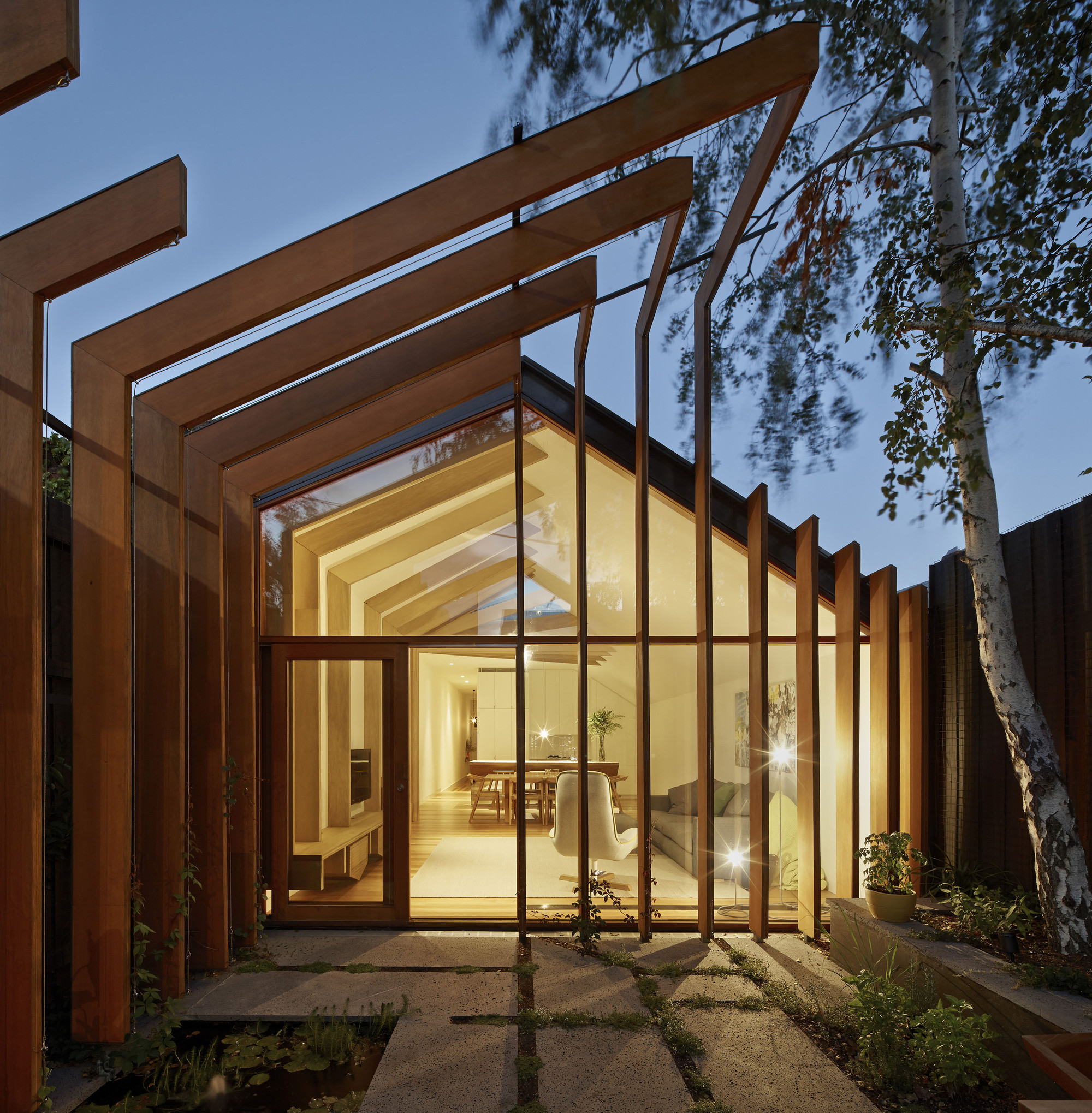 Wood Encouragement Policy Coming To Australia, Cross Stitch House; Melbourne / FMD Architects. Image © Peter Bennetts