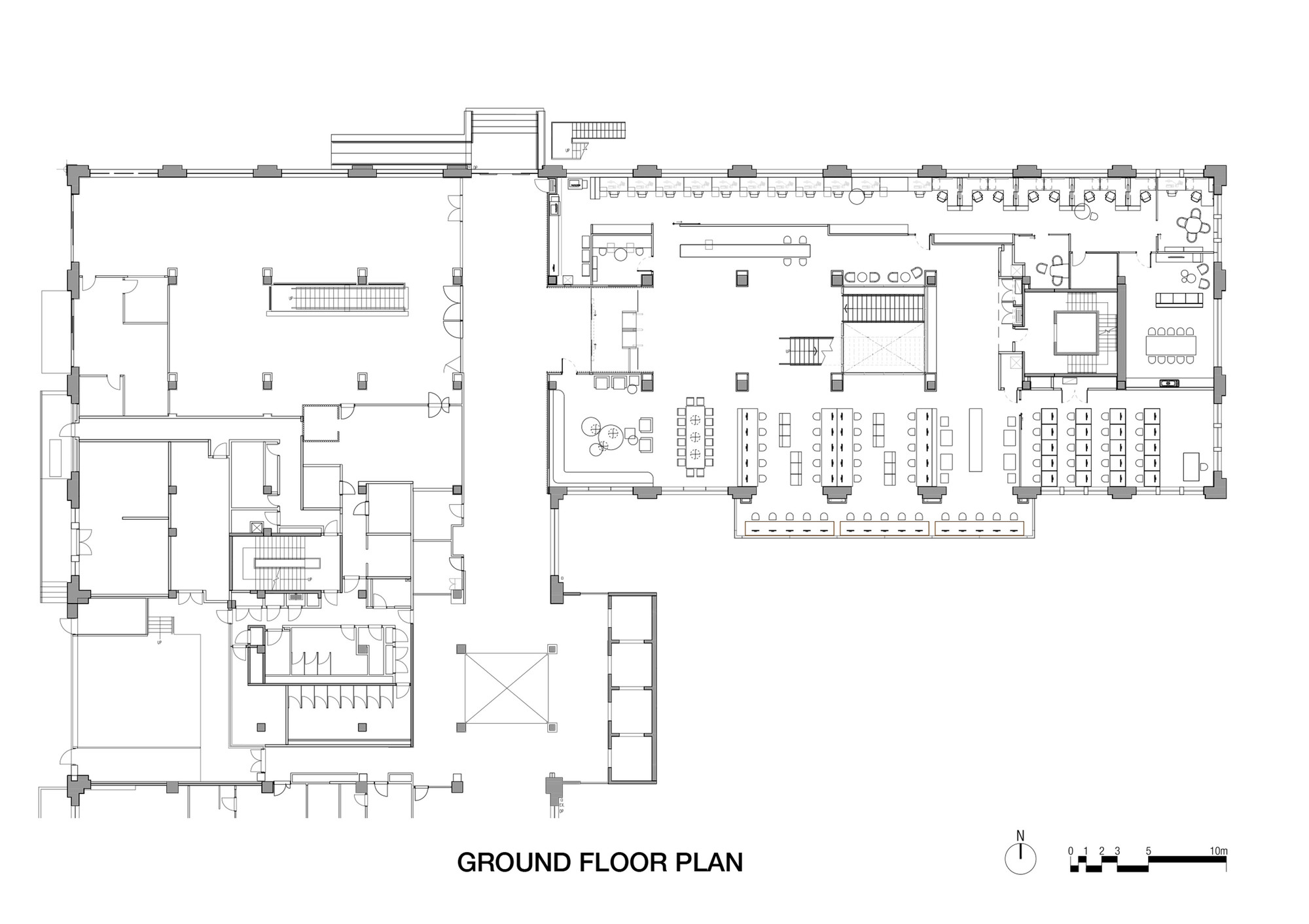 Bungalow Style Floor Plans Gallery Of Raheen Library At Australian Catholic