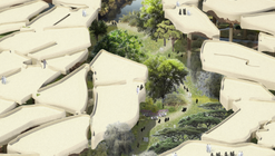 "Heatherwick Tapped to Design ""Sunken Oasis"" in Abu Dhabi"