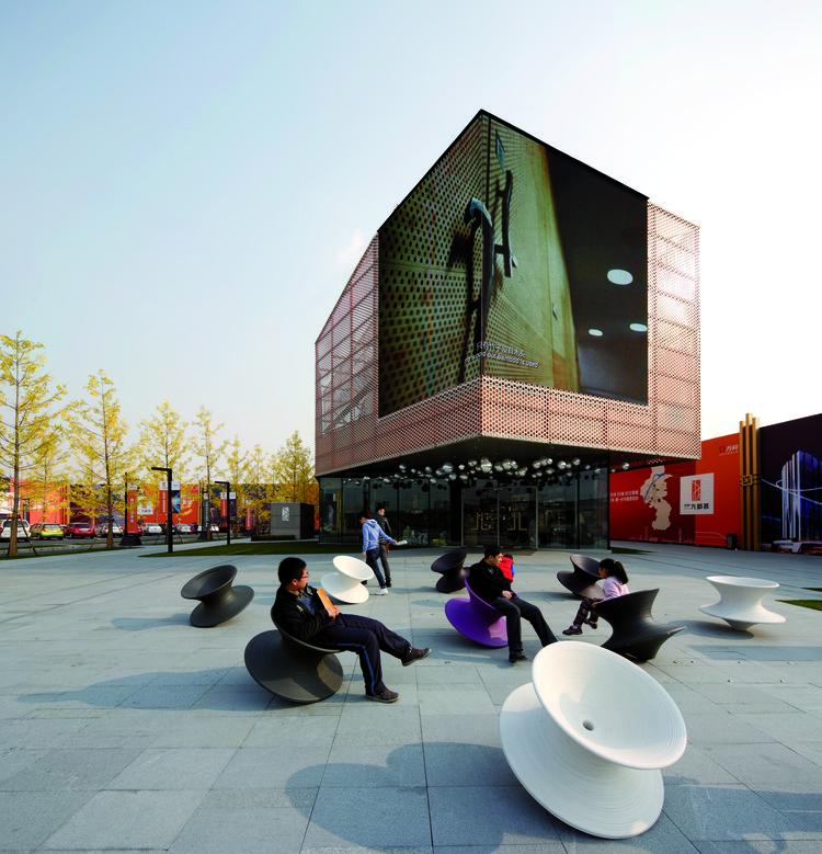 Galería de Ventas Vanke del Nuevo Centro de la Ciudad / Spark Architects, © Shu He