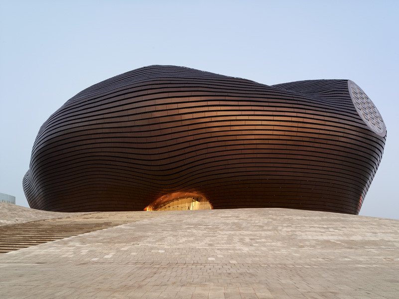 Round Up: Made in China, Ordos Art & City Museum by MAD Architects / © Shu He